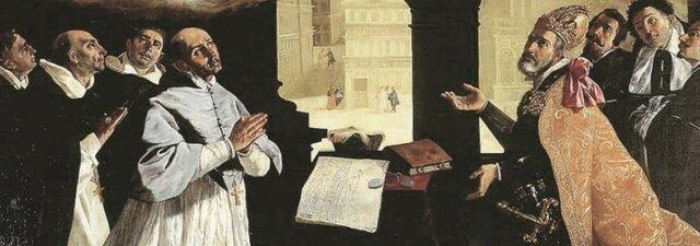 Llegada de los primeros frailes dominicos