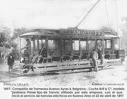 "Primeros ""tramways"""