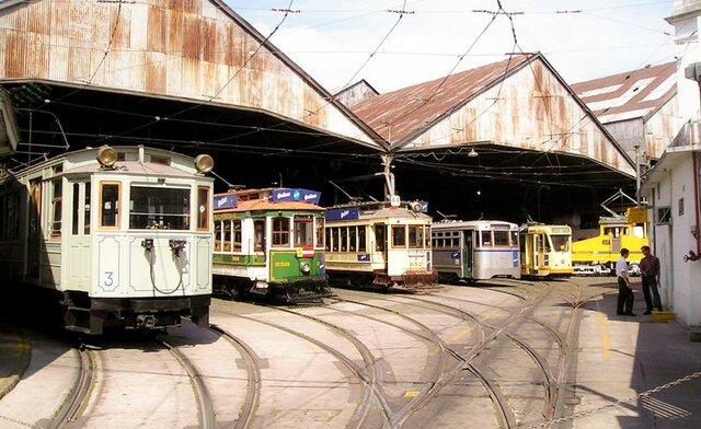 La Inauguración de Los Tranvías.