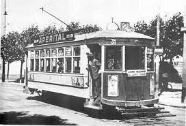 La Parición de Los Primeros Tramways Eléctricos