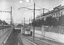 La inauguración de la estación Primera Junta de la Linea A