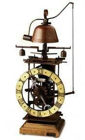 El primer reloj mecánico