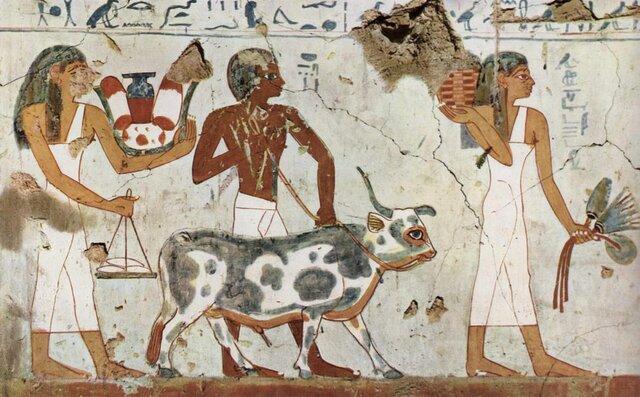 Currículo en la Civilización Ejipcia