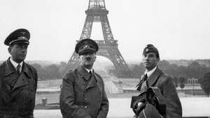 France surrenders to the Axis Powers