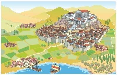 Surgimiento de la pólis griega