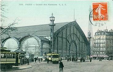 Galería de las Máquinas- Francia