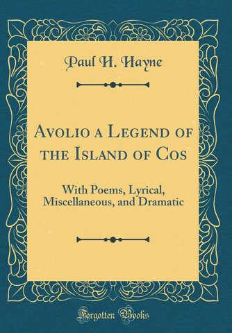 Avolio, A Legend of the Island of Cos