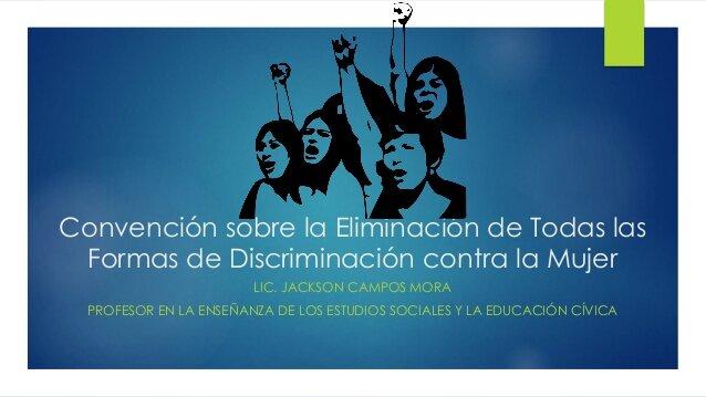 Declaración sobre la eliminación de la discriminación contra la mujer