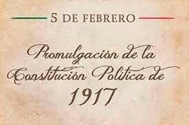 La promulgación de la Constitución