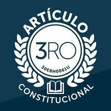 Reforma del articulo 3ro