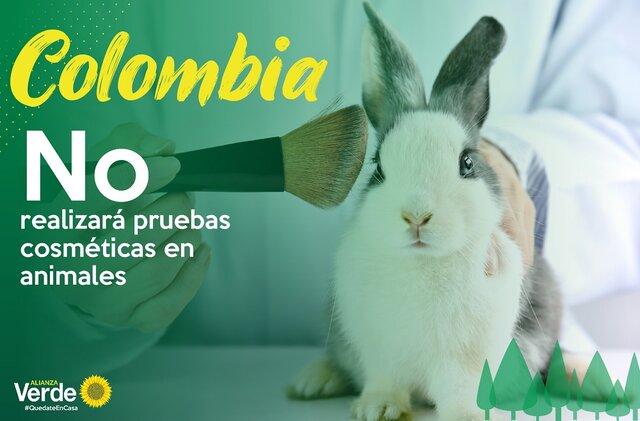 ¿En Colombia se acepta el testeo en animales?