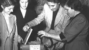 Aprobación del voto femenino