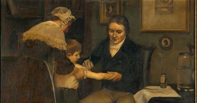 Primera Vacunación contra la viruela