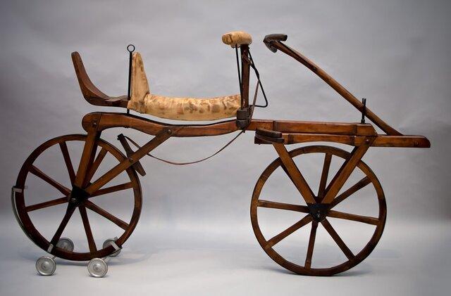 La primer bicicleta
