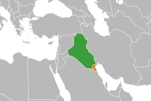 Irak proclama Kuwait