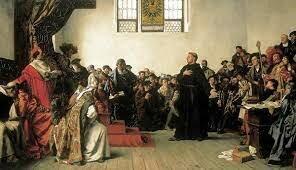 Martin Lutero Comienza la Reforma Protestante.