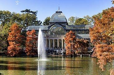 Palacio de Cristal del Retiro- España