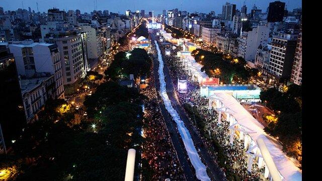 Festejos del Bicentenario.