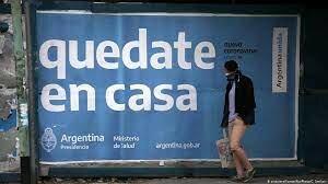 Confinamiento social a causa de Pandemia.