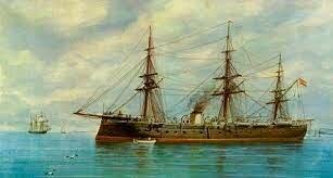 Squire Trelawney contrata un barco, una tripulación y zarpan hacia el viaje (la isla)