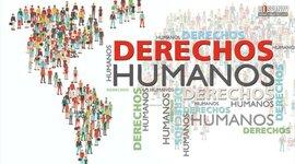 """""""Los Derechos Humanos y su evolución"""" timeline"""