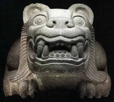 Dios Jaguar Símbolo principal de los Olmecas