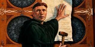 Reforma 95 tesis de Lutero