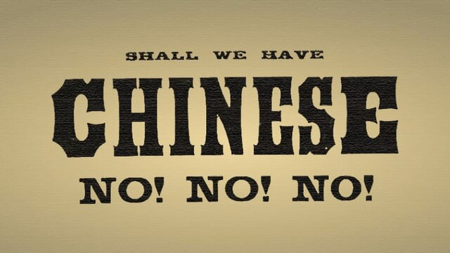 Chinese Exclusion Act Is Passed