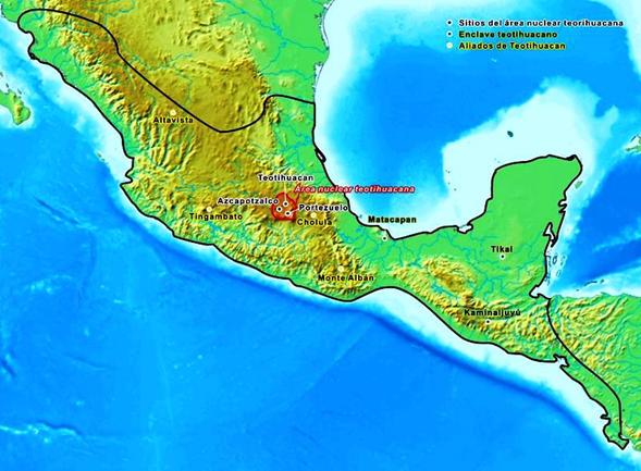 Ubicación Geográfica Teotihuacana