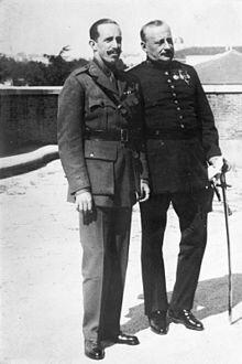 Primo de Rivera Espainian diktadore