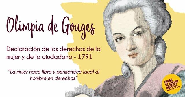 DECLARACIÓN DE LOS DERECHOS DE LA MUJER Y LA CIUDADANA DE OLYMPE DE GOUGES,1791