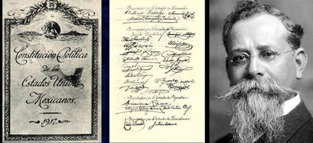 CONSTITUCION MEXICANA (5 DE FEBRERO 1917)