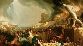 Acontecimientos de la caída del imperio romano  timeline