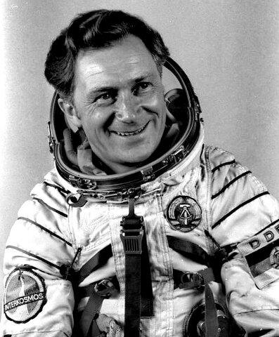 Der erste Deutsche im Weltraum