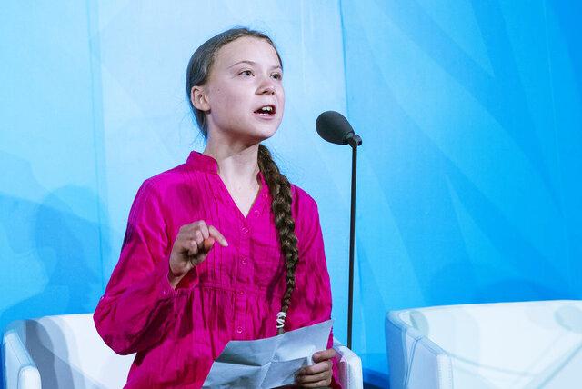 Greta Thunbergs tale til FN