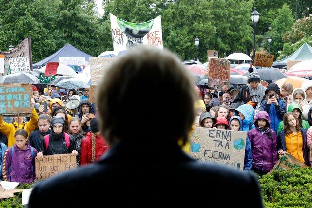 Statsminister Erna Solbergs appell til klimastreikende skoleungdom
