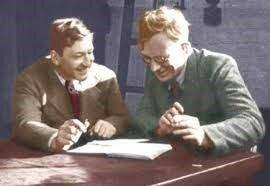 Francis Crick y George Gamov