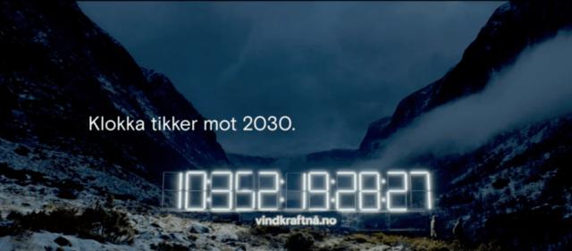 Norsk Vind - Klokka tikker mot 2030