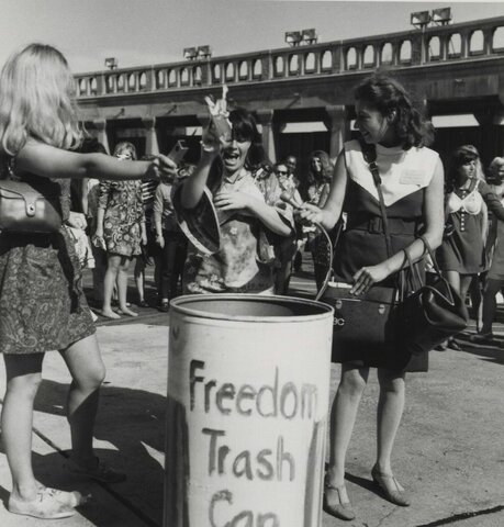 Miss America Pageant Feminist Protest