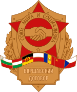 The Warsaw pact is created
