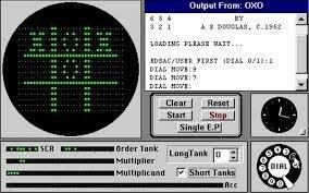 OXO el primer videojuego