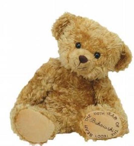Fraternity adopted Al Fuzzie teddy bear asmascot.