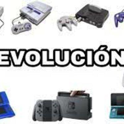 Evolución de las consolas de videojuegos. timeline