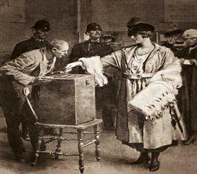 El primer voto