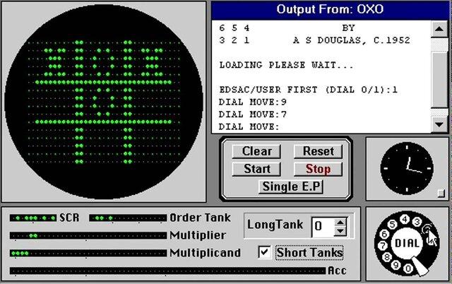 El primer videojuego, Nought and crosses