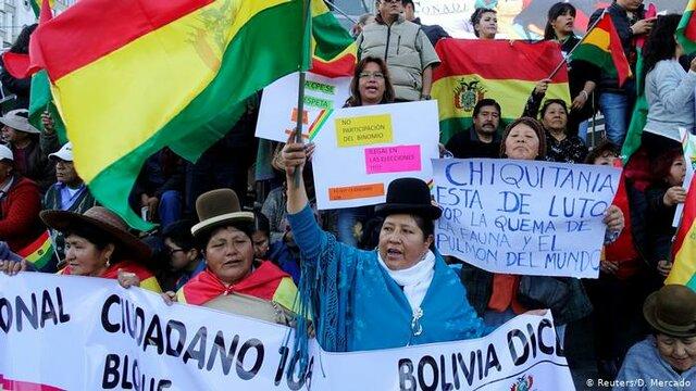 Vuelta a la democracia en Bolivia