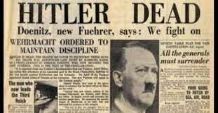 Hitler se suicida.
