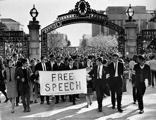 Free Speech Movement Begins