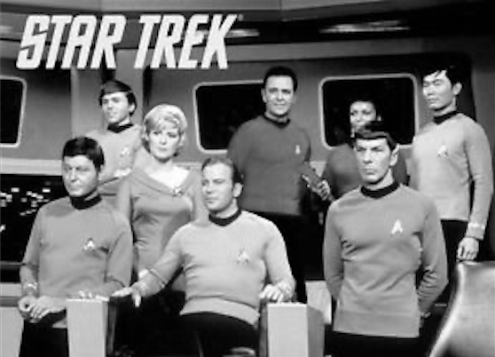 First episode of Star Trek