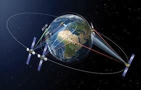 Los primeros enlaces vía satélite